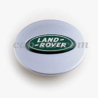 Колпачек Land rover серый + зеленый