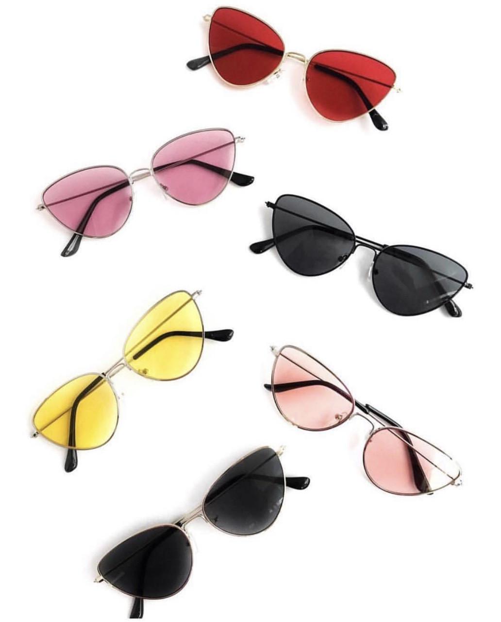 Женские имиджевые очки в расцветках butterflies v4796