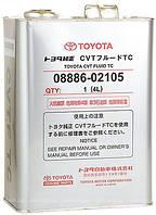 Оригинальное трансмиссионное масло для вариаторов Toyota CVT Fluid TC
