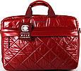 Женская прочная сумка для ноутбука Continent CC-072 Black черный, CC-072 Bordo красный, фото 3