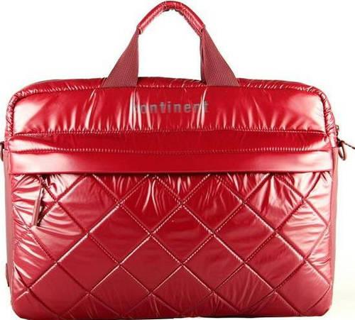 Женская прочная сумка для ноутбука Continent CC-072 Black черный, CC-072 Bordo красный