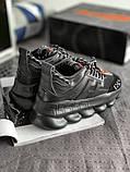 Мужские кроссовки Versace 2 Chain Reaction (Версачи), фото 4