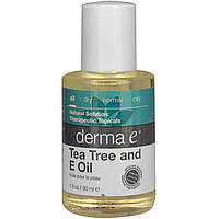 Масло чайного дерева с витамином Е Derma E 30 мл