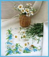 Набор для вышивки «Ромашки на скатерти»