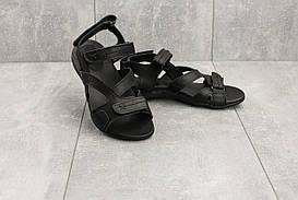 Босоножки StepWey 7561 (лето, женские, кожа, черный)