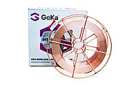 Сварочная проволока марки ER70S-6 ф1,0 15(кг) GeKa, фото 1