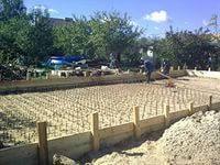 Устройство песчаных оснований и подушек вручную