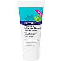 Крем для рук с витамином Е Derma E  56 грамм