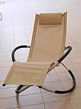 Садовий шезлонг, лежак, стілець, фото 3