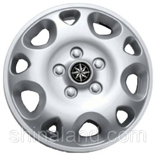 Колпаки на колеса R14 серебро, Star Stratos (2921) - комплект (4 шт.)