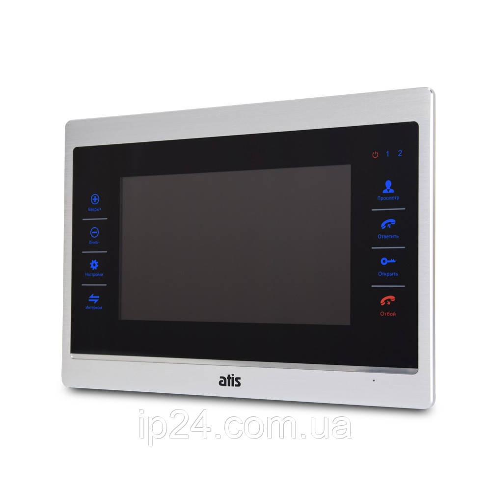 Домофон ATIS AD-740HD S-Black с записью по движению