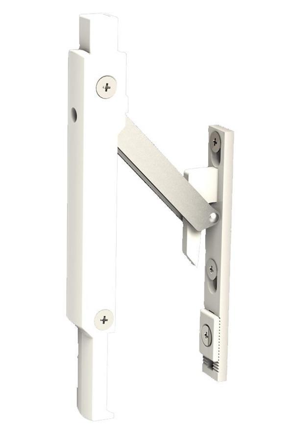 Блокиратор Безопасного Проветривания Створки Окна Оконный Замок Безопасности Автоматический (Safety Latch)