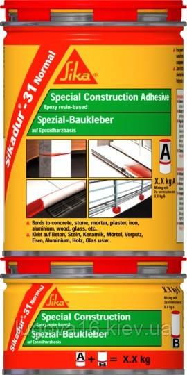 Эпоксидный клей для ремонта и приклеиван. камня,мрамора,стальных,деревян. элементов Sikadur-31CF Normal 1,2кг
