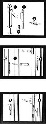 Автоматический Блокиратор Безопасного Проветривания Створки Окна Оконный Замок Безопасности (Safety Latch), фото 2