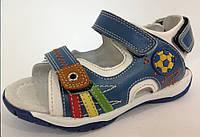 Детские кожаные босоножки на мальчика серия ортопедия тм Тom.m р.27