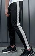 Штаны спортивные мужские BEZET black\white XXL