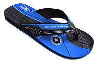 Вьетнамки мужские KITO ETGM9256A-D.BLUE (EVA, р-р RUS-40-43, черный-синий) 40
