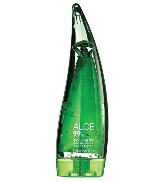 Очищающая пенка для умывания  с соком алоэ Holika Holika Aloe 99% facial cleansing foam 55 мл