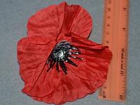 Атласні квіточки 3988 упаковка 10 шт, фото 1