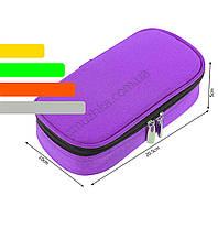 Чехол для хранения инсулина с термометром +4 до +24°C фиолетовый, фото 3