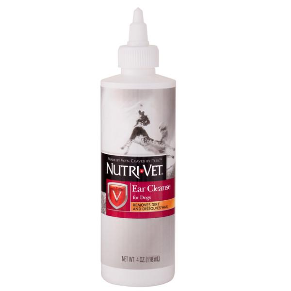 Nutri-Vet Ear Cleanse НУТРИ-ВЕТ ЧИСТЫЕ УШИ ушные капли для собак, 118 мл