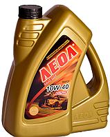 ЛЕОЛ ULTRA 10W-40, гидрокрекинг,  Моторное масло 4 л