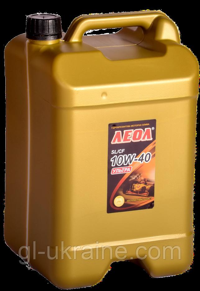 ЛЕОЛ ULTRA 10W-40, гидрокрекинг,  Моторное масло 10 л
