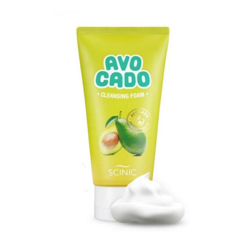 Пенка для умывания с авокадо Scinic Avocado Cleansing Foam 20 мл