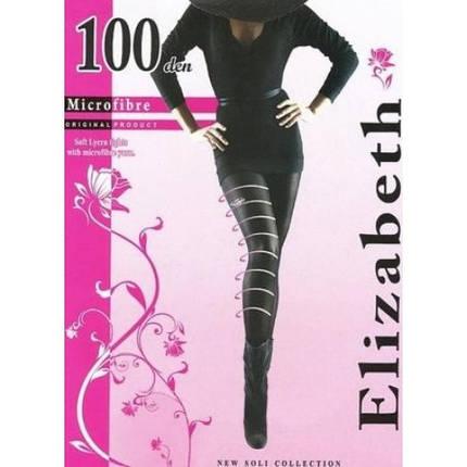 Колготки Elizabeth 100 den microfibre visone (бежевые), фото 2