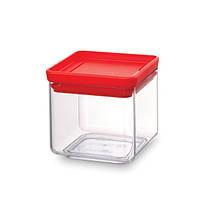 Модульна пластикова ємність з кришкою Brabantia, 0,7 л, червона 290008