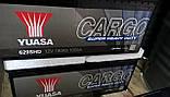 Yuasa 12V 180Ah  Cargo Super Heavy Duty Battery 629SHD, фото 2