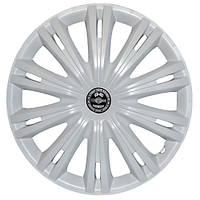 Колпаки на колеса R16 белые, Star Giga White (3312) - комплект (4 шт.)