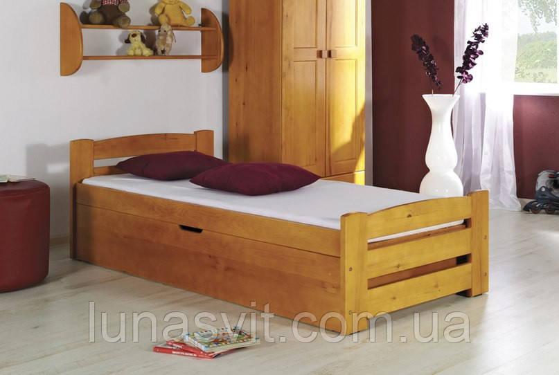 """Ліжко """"Барні"""" Бук , на підйомному механізмі , з контейнером для білизни та ін. речей - Мебельная компания """"Лу́на"""" в Львовской области"""