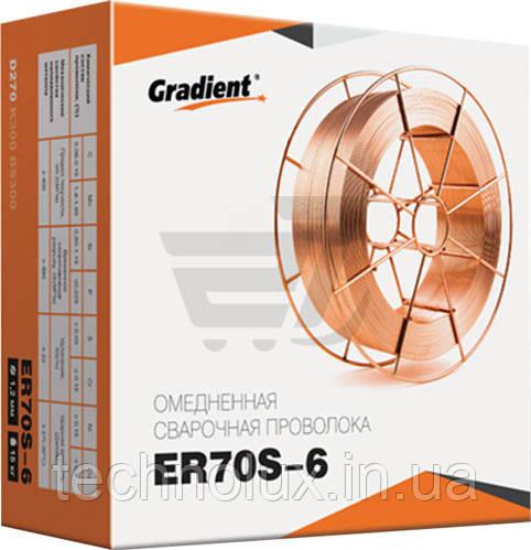 Сварочная проволока омедненная Gradient д.1,2 (15кг)