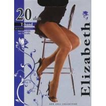 Колготки Elizabeth 20 den t-band Visone (бежевые), фото 2