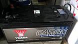 Yuasa 12V 220Ah  Cargo Super Heavy Duty Battery 625SHD, фото 2