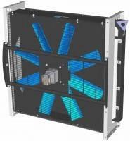 Охладитель гидравлический (теплообменник, радиатор, кулер). Hydraulic oil cooler (heat exchanger) ASA0927AH11