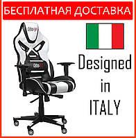 Кресло геймерское Cyber EX-X2 белое