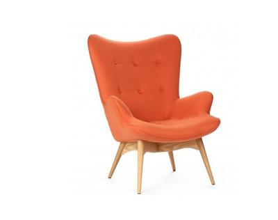 """Кресло """"Флорино оранжевый"""""""