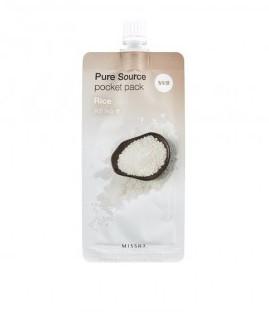 Пилинг-скатка с экстрактом риса Missha Pure Source Pocket Pack  Rise 10 мл