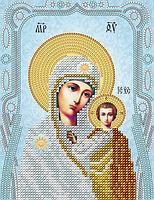 """Схема на ткани для вышивки """"Богородица Казанская"""""""