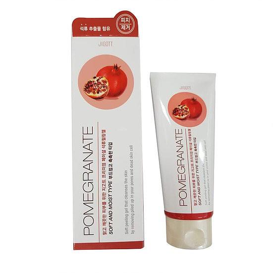 Пилинг-гель премиум класса с экстрактом граната Jigott Premium Facial Pomegranate Peeling Gel 180 мл