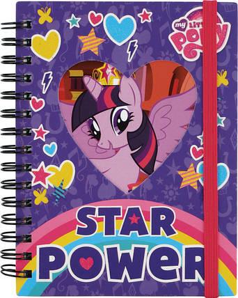 Блокнот Kite Little Pony 80 листов А6, фото 2