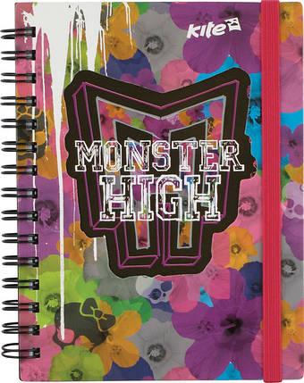 Блокнот Kite Monster High1 80 листов А6, фото 2