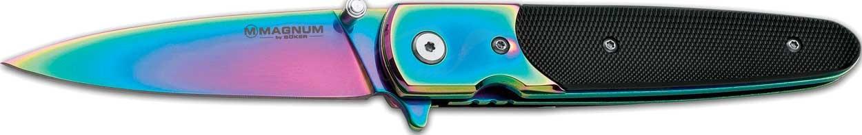 Нож Boker Magnum Bondsman Rainbow