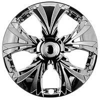 Колпаки на колеса R13 хромированные, WinJet (WJ-T002-C-13) - комплект (4 шт.)