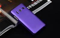 Пластиковый чехол для Huawei U8833 / T8833 Ascend Y300 фиолетовый