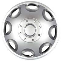 Колпаки на колеса R15 серебро, SJS (300) - комплект (4 шт.)