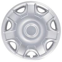 Колпаки на колеса R15 серебро, SJS (301) - комплект (4 шт.)