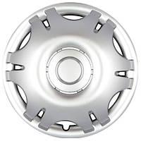 Колпаки на колеса R15 серебро, SJS (305) - комплект (4 шт.)